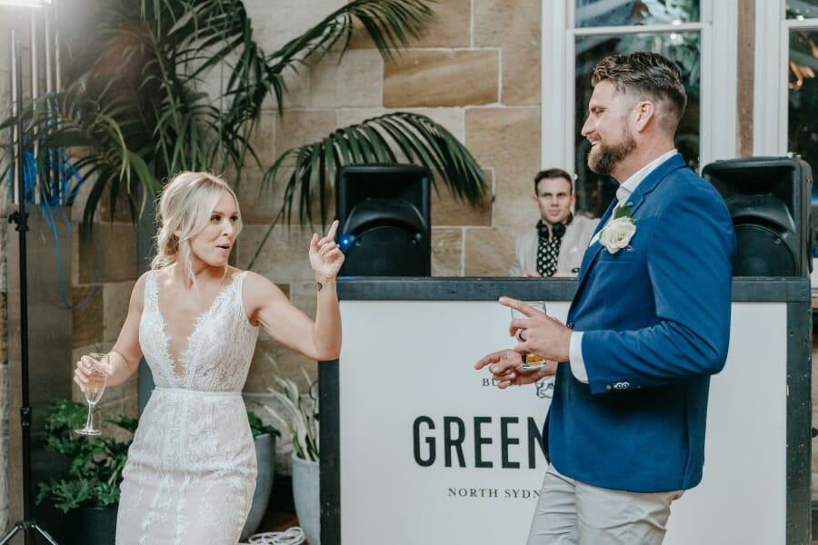 funny wedding photography of couples from sydney